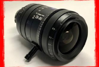 SOLD! ZEISS 28-80mm T2.9 Compact Zoom CZ.2 Lens (PL Mount)