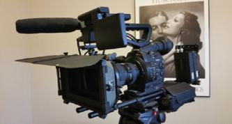SOLD Canon EOS C300 Cinema EOS Camcorder Pkg. EF Lens Mount w/Tripod