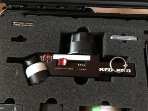 REDUCED! Red 3 Axis System Lens Control System Like New Condition! Used on 5 Times!