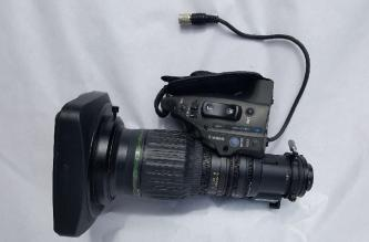 """Canon HJ14ex4.3B-IRSE 2/3"""" HDTV ENG Wide Angle Lens"""