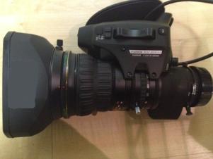 Fujinon HA18x7.6BERM Hi-Def Broadcast Lens