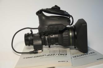 Canon HJ17ex7.6B IRSE Broadcast Lens