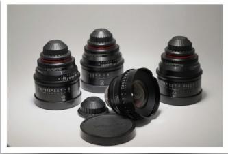 Rokinon Xeen 4 Lens Bundle 16,24,50,85mm PL Mount  Version 1