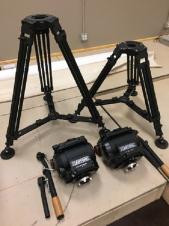Cartoni Master 65 Tripod System w/Pan Bar CF legs & Mid Spreader