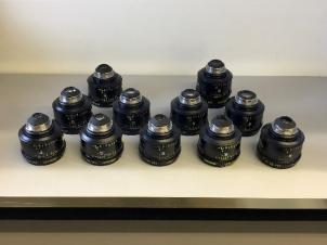 Set of 11 Zeiss LDS Ultra Primes 16,20,24,28,32,40,50,65,85,100 & 135