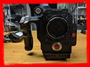 SOLD! Red Epic W DSMC2 Brain with Helium S35 Sensor  w/Set Of Prime Lenses