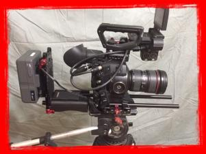 Canon EOS C300 Cinema EOS Camera Pkg. with Lenses (EF Lens Mount)