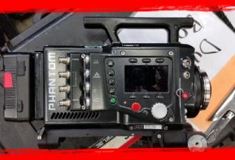 Phantom FLEX4K ULTRA 64GB Color Camera W/ PL Mount & CINEMAG IV