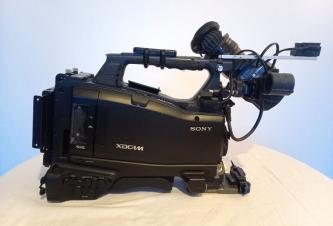 "Sony PXW-X500 3 chip 2/3"" XDCam Shoulder Mount Camcorder w/Color VF"