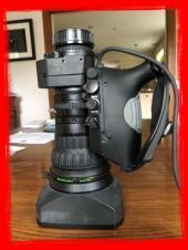 "Fujinon XA17x7.6BERM 17x 2/3"" HD Lens w/2x Extender, Manual Focus & Servo Zoom"