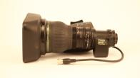 """SOLD! Canon HJ22ex7.6B-IRSE 2/3"""" Hi Def ENG Lens With Controls"""