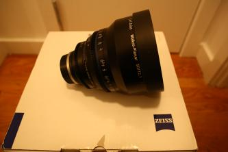 Zeiss Compact Prime CP.2 50mm f/2.1 Makro-Planar T*  (Feet) Lens with Canon EF EOS Mount