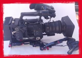 SOLD! Sony PXW-FS7M2 4K XDCAM Super 35 Camcorder W/Sony XDCA-FS7 Ext.  Unit