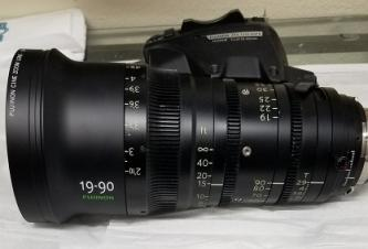 Fujinon ZK19-90mm T2.9 Cabrio Lens (PL Mount)