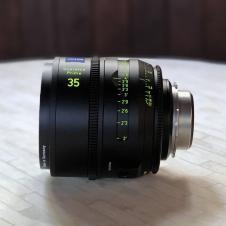 ZEISS 21,35 & 85mm Supreme Prime T1.5  Imperial Full Frame PL Mount  Lenses Set of 3