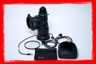 SOLD! Fujinon XK6X20 SAF (20-120) Pl Mount 4k Lens T 3.5