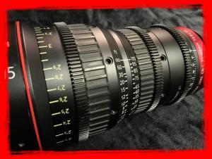 Canon CN-E 30-105mm T2.8 L S Cinema Zoom Lens with PL Mount