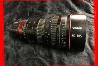 Canon CN-E 30-105mm T2.8 L S Cinema Zoom Lens with PL Mount