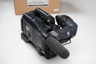"Panasonic HPX3000G 2/3"" P2 HD Camcorder"