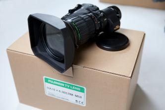 Fujinon HA 16X6.3 BERD Hi-Def Broadcast Lens