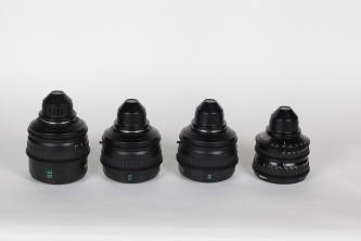 SOLD! Sony SL PL Mount Lens Set 1 Wide Angle Zoom and 3 Primes 35,50 & 85mm