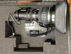 Canon HJ17ex7.7B IRSE/IASE Broadcast Hi-Def Lens