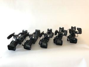 JVC Camera HM890 & HM850 Cameras