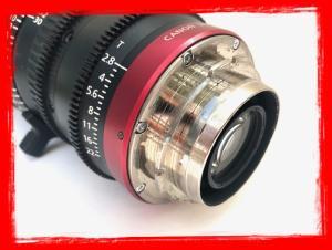 Canon PL-Mount CN-E 30-105mm f/2.8 L SP/MOD Digital Cinema Zoom Lens