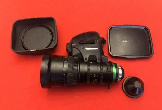 Fujinon XK20-120mm T3.5 Cabrio Lens (PL Mount) With Servo!