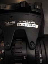 "Sony PMW 320K XDCAM EX 1/2""-type Shoulder-mount Camcorder w/Fujinon XS16x5.8A-XB8 Lens"