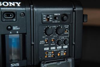 Sony PMW-F5 4K HD Camcorder w/Sony LCD VF & CBK55BK DocumentaryDock