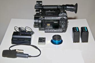 Sony PMWF3L Super 35mm XDCAM EX Camera w/SLog