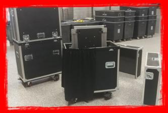 """JELCO ELU-50R Rotolift Shipping Cases for 45""""-50"""" Monitors"""