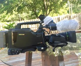 Sony PDW-700 XDCAM HD Camcorder w/24p Option and  Fuji HD17x lens