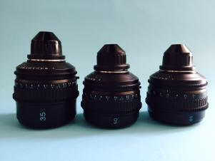 Sony SCL-P35/50/85 T20 PL Mount Set of 3 Lenses