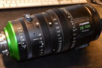 Fujinon Premista 28-100mm T2.9 Large-Format Cine Lens (PL)