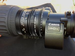 Canon HJ11ex4.7B IRSE  Hi Definition Broadcast Lens