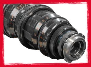 Cooke LZ 18-100MM Zoom T3.1 Lens