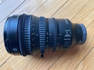 Sony E PZ 18-110mm f/4 G OSS E Mount Lens