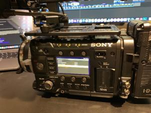 Sony CineAlta PMW-F55 4K HD Camcorder w/DVF L350 VF