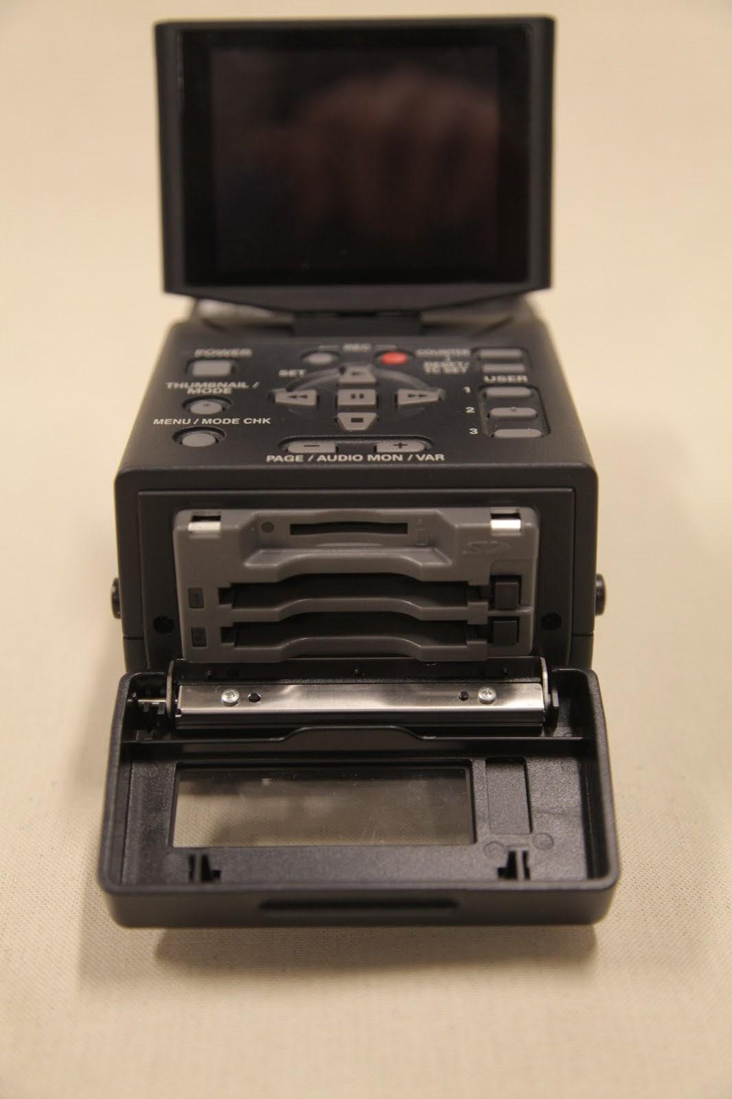 Panasonic Ag Hpg10 Portable P2 Gear Player Recorder