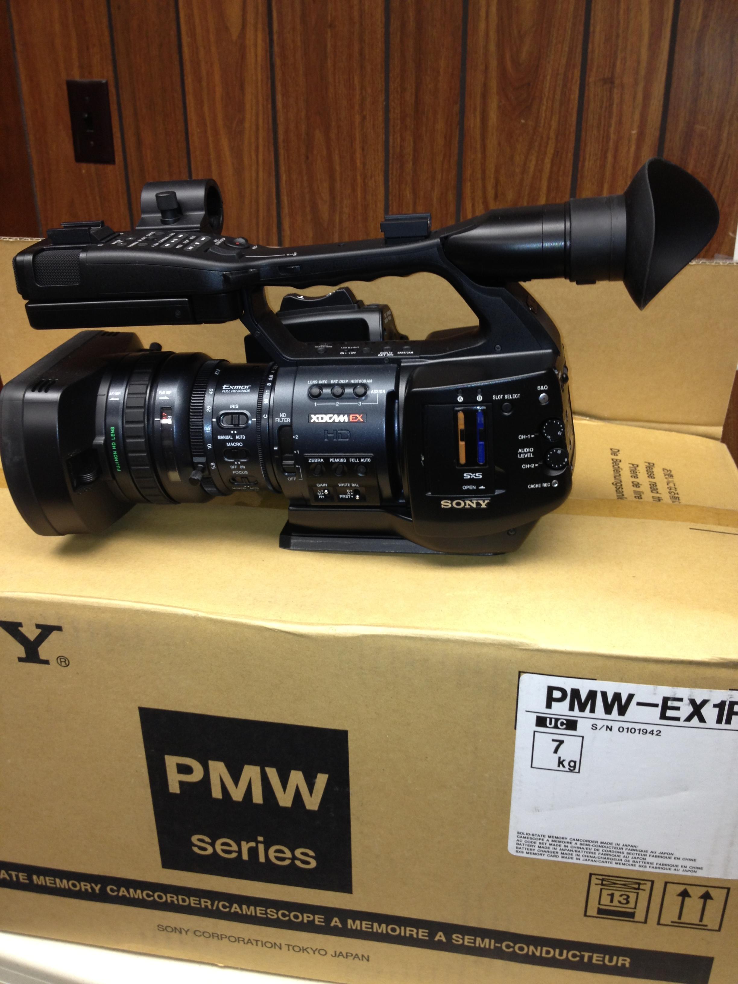 sony pmw ex1r xdcam ex hd camcorder rh newprovideo com Sony HXR-NX5U NXCAM sony xdcam ex manual pdf