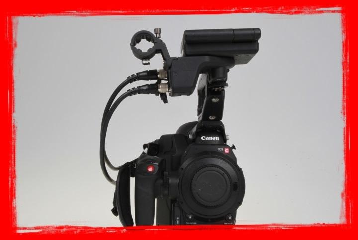 Canon Cinema EOS C300 Mark II Camcorder Body with Dual Pixel