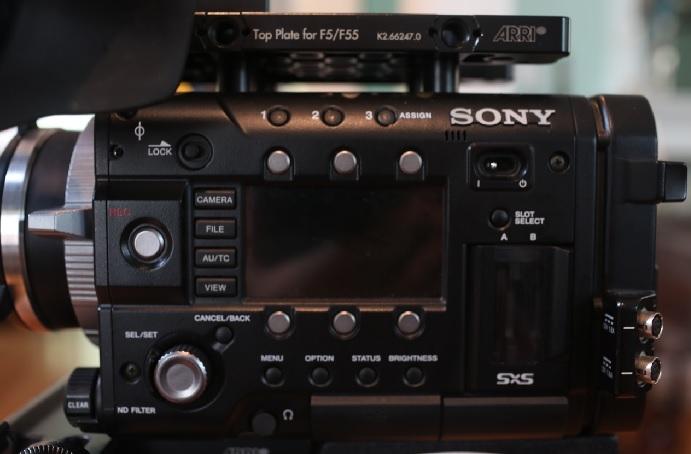 Sony Pmw F55 Sony Digital Cinema Camera